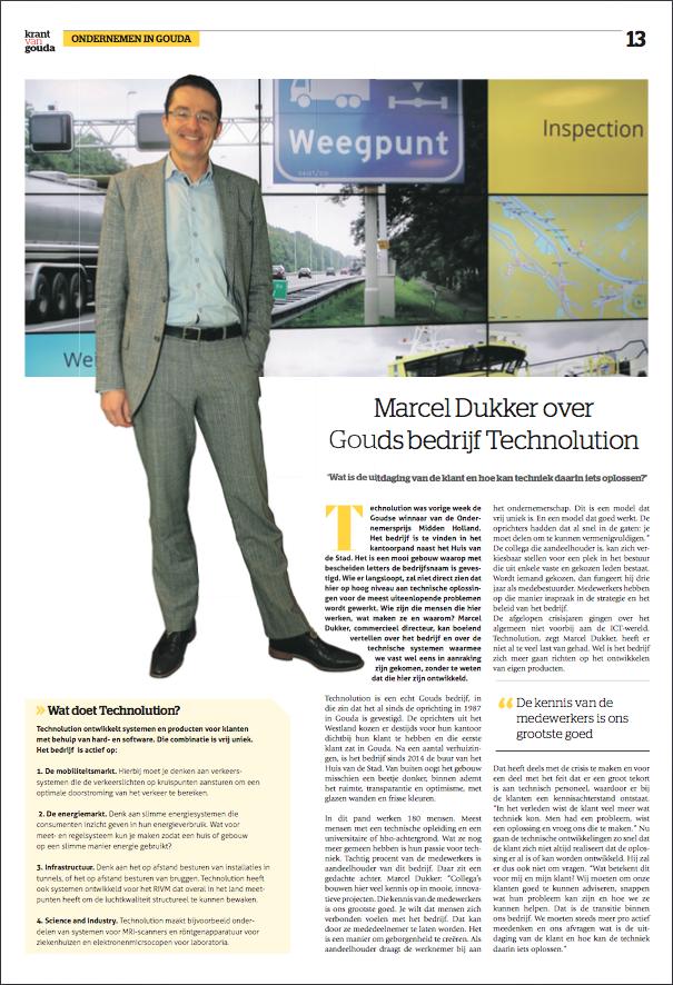 PDF_Interview met Marcel Dukker_DeKrantvanGouda