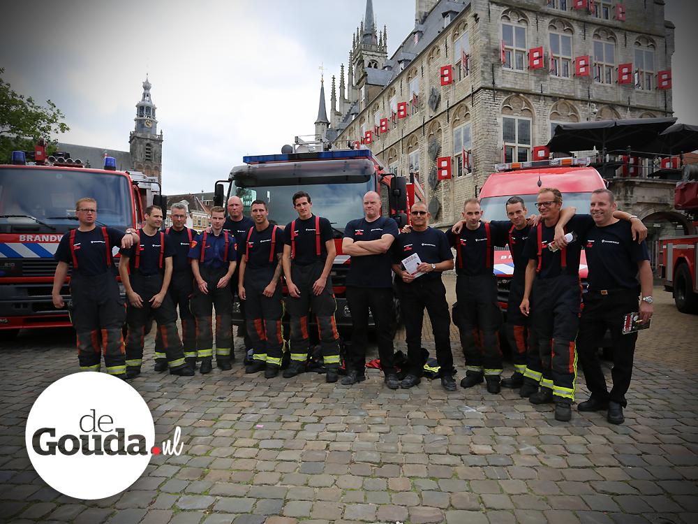 Brandweer Gouda op de Markt (1)