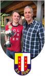 Nieuwe trainer SV Donk Rob Gieben